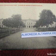 Postales: GALICIA 'SANATORIO CONJO CONXO ACCESO HOSPITAL SANTIAGO COMPOSTELA EDI THOMAS Nº9248 S/C DIV.+INFO1S. Lote 171613230