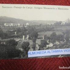Postales: GALICIA 'MANICOMIO CONJO CONXO VISTA Y MONASTERIO' SANTIAGO COMPOSTELA EDI EL SOL S/C DIV.+INFO1S. Lote 171613583