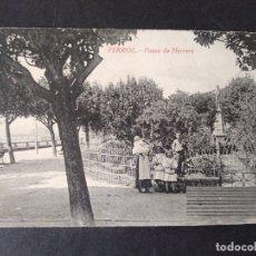 Postales: FERROL CORUÑA PASEO DE HERREA EDICION NORES Y COUCO. Lote 171639540