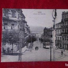 Postales: AB-475.- POSTAL DE -- VIGO -- CALLE DE COLON.- CIRCULADA . Lote 171665840