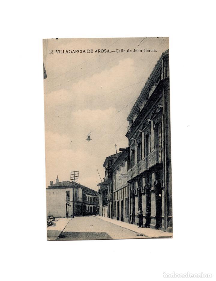 VILLAGARCIA DE AROSA.(PONTEVEDRA).- CALLE DE JUAN GARCIA. (Postales - España - Galicia Antigua (hasta 1939))