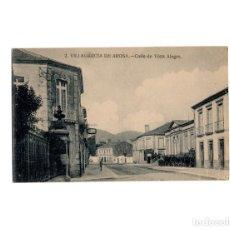 Cartes Postales: VILLAGARCIA DE AROSA.(PONTEVEDRA).- CALLE DE VISTA ALEGRE.. Lote 171712784