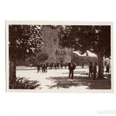 Postales: VILLAGARCIA DE AROSA.(PONTEVEDRA).- IGLESIA PARROQUIAL.. Lote 171712884