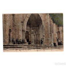 Postales: TUY.(PONTEVEDRA).- PORTICO DE LA CATEDRAL. . Lote 172651955