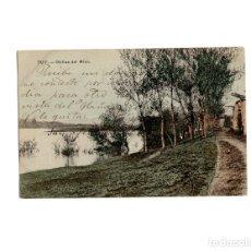 Postales: TUY.(PONTEVEDRA).- ORILLAS DEL MIÑO.. Lote 172652147