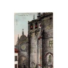 Postales: TUY.(PONTEVEDRA).- CATEDRAL.. Lote 172652499