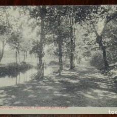 Postales: POSTAL DE SANTIAGO. N.19. SANATORIO DE CONJO. ESTANQUE DEL PARQUE. FOTOTIPIA THOMAS. SIN CIRCULAR.. Lote 173047343