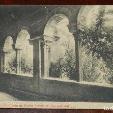Postales: POSTAL DE SANTIAGO. N. 21. SANATORIO DE CONJO. PARTE DEL CLAUSTRO ANTIGUO. FOTOTIPIA THOMAS. SIN CIR. Lote 173047422