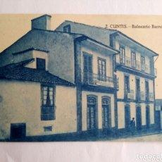 Postales: POSTAL ANTIGUA. CUNTIS. BALNEARIO BARREIRO. PONTEVEDRA, GALICIA.. Lote 173733704