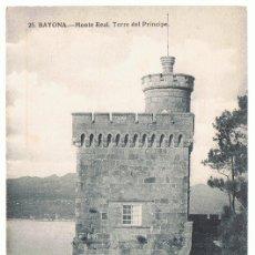 Postales: POSTAL BAYONA MONTE REAL TORRE DEL PRÍNCIPE . Lote 173957019