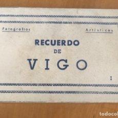 Postales: ANTIGUO ACORDEÓN LIBRO POSTALES VIGO SERIE I ED ARRIBAS . Lote 173984159