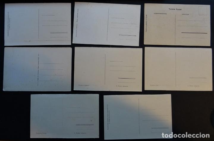 Postales: 7 antiguas postales de La Coruña sin circular - Foto 2 - 174017345