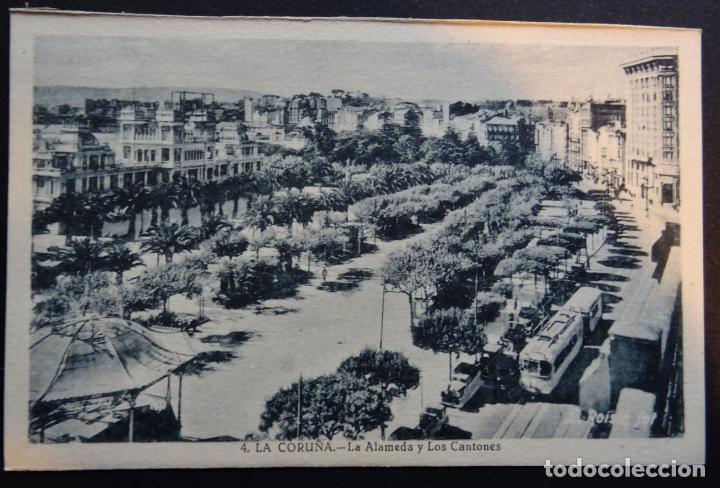 Postales: 7 antiguas postales de La Coruña sin circular - Foto 3 - 174017345