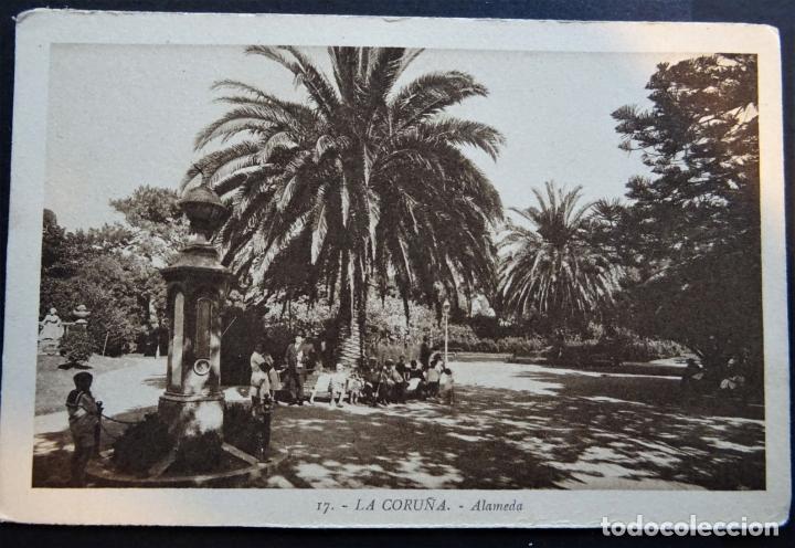 Postales: 7 antiguas postales de La Coruña sin circular - Foto 4 - 174017345