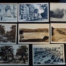 Postales: 7 ANTIGUAS POSTALES DE LA CORUÑA SIN CIRCULAR. Lote 174017345