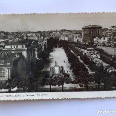 Postales: LA CORUÑA. POSTAL FOTOGRÁFICA, JARDINES Y CANTONES. EDITA: ED. ARRIBAS (H.1950?) NO CIRCULADA... Lote 174040649