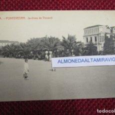 Postales: POSTAL PONTEVEDRA ' JARDINES DE VINCENTI ' Nº 14A THOMAS 6311, EDI VIÑAS DIVIDIDA S/C + INFO 1S. Lote 174047942