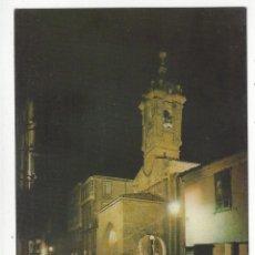 Postales: 3640 - SANTIAGO DE COMPOSTELA.- IGLESIA DE SANTA MARIA SALOMÉ. NOCTURNA. Lote 174072167