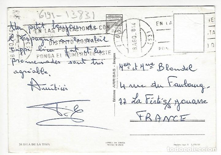 Postales: 38 - ISLA DE LA TOJA. - Foto 2 - 174221544