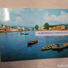 Postales: POSTAL LA CORUÑA NOYA ' VISTA PARCIAL FUENTE LUMINOSA ', Nº 254 EDI ALARDE, S/C + INFO 1S. Lote 174408003