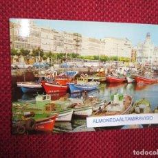 Postales: POSTAL LA CORUÑA ' DARSENA PESQUERA ' Nº 11 EDI ALARDE, S/C + INFO 1S. Lote 174409162