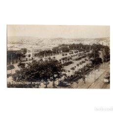 Postales: CORUÑA.- PARQUE MENDEZ NUÑEZ. FOTO FERRER. POSTAL FOTOGRÁFICA.. Lote 174592237