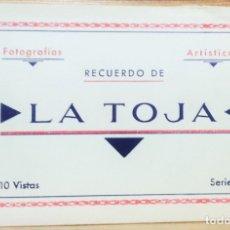 Postales: ALBUM TARJETAS POSTALES RECUERDO DE LA TOJA.10 VISTAS.SERIE B.FOTOGRAFO M.ARRIBAS.ZARAGOZA. Lote 174815740
