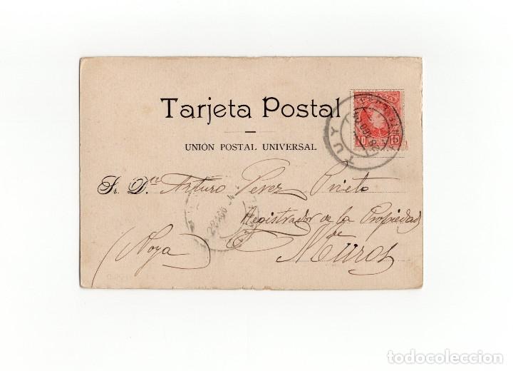 Postales: TUY.(PONTEVEDRA).- LAVADERO EN EL TRIPES. LAS COLONIAS. SALVADOR FERNANDEZ. - Foto 2 - 175004773