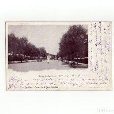Postales: TUY.(PONTEVEDRA).- PASEO LA ALAMEDA. LAS ANTILLAS. COMERCIO DE JOSÉ GÁNDARA.. Lote 175005283