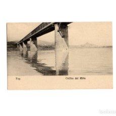 Cartes Postales: TUY.(PONTEVEDRA).- ORILLAS DEL MIÑO.. Lote 175005383