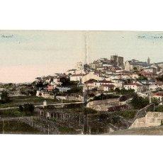 Postales: TUY.(PONTEVEDRA).- VISTA GENERAL . DOBLE. PANORAMICA.. Lote 175011960