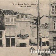 Postales: MONFORTE DE LEMOS (LUGO) - CANTON DE BAILEN. Lote 175114182