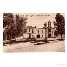 Postales: CARBALLO.(LA CORUÑA).- IGLESIA Y CONVENTO HH. DOMINICAS.. Lote 175155409