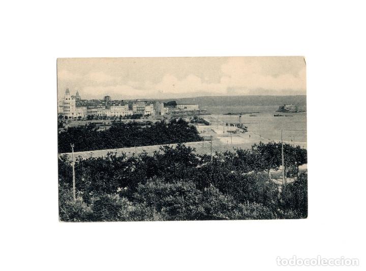 LA CORUÑA.- VISTA PARCIAL DE LA BAHÍA. (Postales - España - Galicia Antigua (hasta 1939))