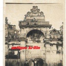 Postales: OURENSE.- FUENTE DE LAS BURGAS DE ABAIXO .-POSTAL FOTOGRAFICA AÑOS 20. Lote 175203417