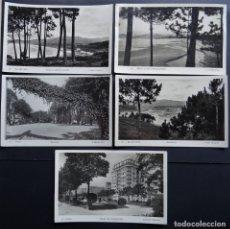 Postales: 5 ANTIGUAS POSTALES DE VIGO DE LOS AÑOS 50 , VER FOTOS DEL REVERSO . Lote 175266744