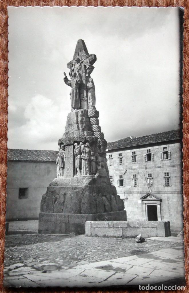 SANTIAGO DE COMPOSTELA - MONUMENTO A SAN FRANCISCO DE ASIS (Postales - España - Galicia Moderna (desde 1940))