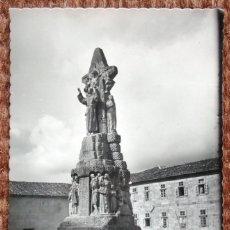 Postales: SANTIAGO DE COMPOSTELA - MONUMENTO A SAN FRANCISCO DE ASIS. Lote 175493159