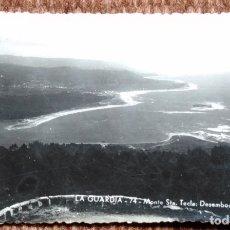 Postales: LA GUARDIA - MONTE SANTA TECLA - EDICIONES POLIGRAFICA. Lote 175493527