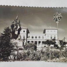 Postales: POSTAL DE PONTEVEDRA: MONUMENTO HEROES PUENTE SAN PAYO. AÑOS 50. Lote 175733957