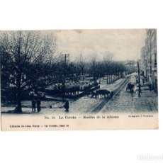 Postales: LA CORUÑA - MUELLES DE LA ADUANA.. Lote 175998158