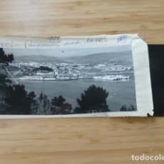 Postales: EL FERROL CORUÑA DESDE LA RIA POSTAL PANORAMICA CON SU NEGATIVO ORIGINAL EDICIONES ARRIBAS Nº 906. Lote 176003854