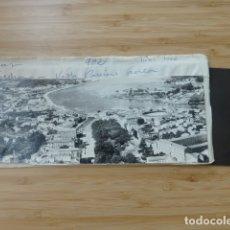 Postales: PONTEVEDRA VISTA PARCIAL AEREA POSTAL PANORAMICA CON SU NEGATIVO ORIGINAL EDICIONES ARRIBAS Nº 902. Lote 176004128