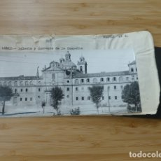 Postales: MONFORTE DE LEMOS LUGO COMPAÑIA POSTAL PANORAMICA CON SU NEGATIVO ORIGINAL EDICIONES ARRIBAS Nº 905. Lote 176004325