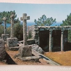 Postales: LA GUARDIA PONTEVEDRA CALVARIO POSTAL. Lote 176093522