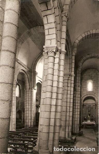 SANTIAGO DE COMPOSTELA. COLEGIATA DE SAR. COLUMNAS (Postales - España - Galicia Antigua (hasta 1939))