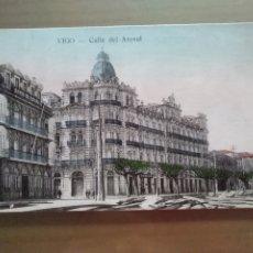 Postales: POSTAL VIGO CALLE DEL ARENAL. Lote 176314088