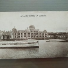 Postales: POSTAL ATLANTIC HOTEL LA CORUÑA. Lote 176400699