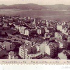 Postales: VIGO - VISTA PANORAMICA Y RIA. Lote 176533984