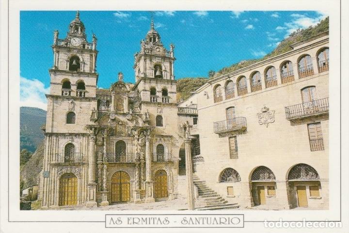 POSTAL AS ERMITAS SANTUARIO (OURENSE). FAMA. VIGO (Postales - España - Galicia Moderna (desde 1940))